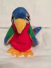 TY Beanie Baby - JABBER the Parrot - Pristine with Mint Tags - RETIRED
