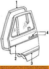 Dodge CHRYSLER OEM 84-88 B250 Door Body Side-Lower Molding Trim Right 4081364