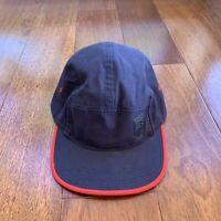 Nike USA Soccer 5 Panel Navy Red Flag Adjustible Strapback Hat AW84 OSFA