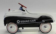 1/3 XoneX Die Cast Metal Squad Car Pedal Car