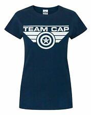 Captain America Civil War Team Cap Women's T-Shirt