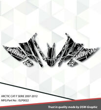 SLED GRAPHIC KIT DECAL WRAP FOR ARCTIC CAT Z1 F8 F6 F5 F SERIES 07-2012 ELP0022