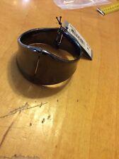 $50 Robert Lee Morris Dark Gray Clasp Bracelet mm4