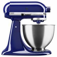 KitchenAid Deluxe 4.5 Quart Tilt-Head Stand Mixer, Cobalt Blue