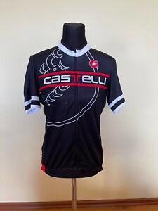 Brand New Original Castelli Jersey SHORT SLEEVES SIZE XL For Men
