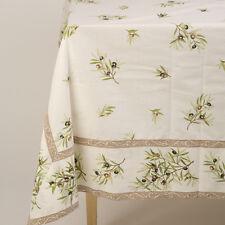 Bordered PROVENCAL Cotton TABLECLOTH 250 cm x 160 cm