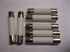 10 Pcs Fast Blow Ceramic Fuse 30A 250V 6mm x 30mm 6x30mm 630 New