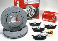 Seat Toledo 2 II - zimmermann Discos de Freno Perforado Zuecos Cable Delant.