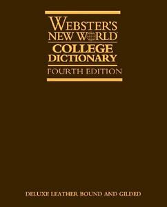Websters New World College Dictionary, 4th Deluxe