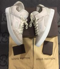 100% AUTHENTIC LOUIS VUITTON X KANYE WEST DON CREME LV 6.5 US 8 JASPER