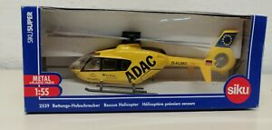Siku 2539 BG Klinik Ludwigshafen ADAC Hubschrauber Werbemodell