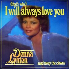 """7"""" DONNA LYNTON (That's Why) I Will Always Love You DURECO Dutch 1986 like NEW!"""