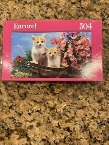 Encore! 504 Piece Kittens Puzzle Factory Sealed New