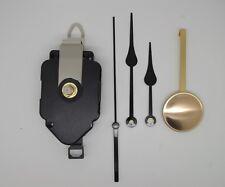 mécanisme horloge quartz à balancier- aiguilles poire 8/11cm balancier laiton
