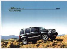 Jeep Cherokee 2007-08 UK Market Sales Brochure 2.8 CRD Limited