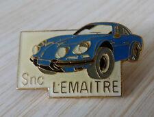 RARE PIN'S ALPINE RENAULT A 110 BERLINETTE SNC LEMAITRE