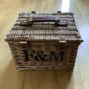 Fortnum & Mason Hamper Wicker Basket - Small Cute Romantic Limited Edition