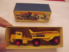 Vintage Lesney Matchbox Size KW-Dart Dump Truck mover K-2 nice box
