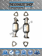 FITS: 99-04 NISSAN XTERRA/FRONTIER 3.3L RIGHT & LEFT CATALYTIC CONVERTER SET