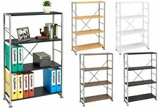 More details for bookcase with 4 shelves storage furniture for home & office piranha ballan pc 12