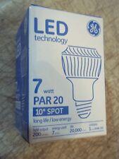Bnib Ge Led 7W Par 20 10° Spot Light Bulb Floodlight Led7Par20/Sp10 73717