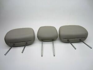 08 09 10 11 12 Mercury Mariner - 2nd Row Stone Leather - Vinyl Headrests