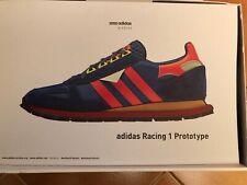 ADIDAS WM RACING 1 Lacci Nero Bianco Sneaker Uomo Sintetico S81910 U46