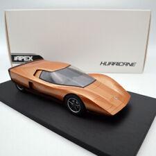 APEX Holden Hurricane #002 1969 Concept Car Orange Limited Edition Resin 1:18
