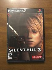 Silent Hill 3 w/ Soundtrack  (Sony PS2)  Very Rare!  Mint!  Complete In Box!