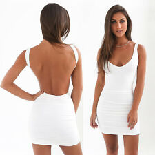 Women Sexy Summer Bandage Bodycon Evening Party Cocktail Casual Short Mini Dress