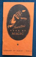 Thurston's Book Of Magic Vol. 4 (1933)