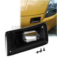 1x Left Side Carbon Fiber Air Vent Intake Duct For Nissan 350Z Z33 2003-2007 ND