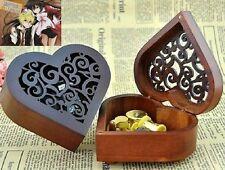 Heart Wood Wind Up Music Box : PANDORA HEARTS LACIE