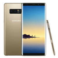 New Samsung Galaxy Note 8 N950FD 6GB Ram 64GB Dual Sim Gold - 1 Year Warranty
