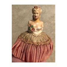 Plaster pincushion half doll