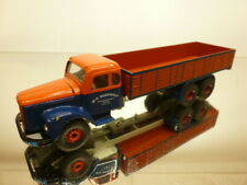 TEKNO HOLLAND 451 SCANIA VABIS 56 FLATBED TRUCK - BOEKHOUT 1:50 - VERY GOOD
