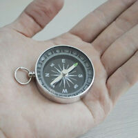 Hiking Portable Aluminum Wild Survival Professional Compass Navigation Tool NEW
