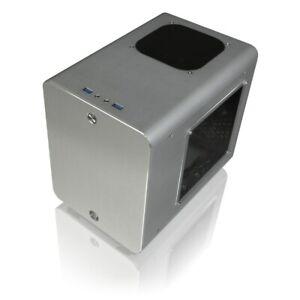 Raijintek Metis Plus ITX Gaming Case - Silver USB 3.0