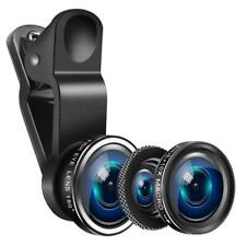 Mobile Phone Camera Lens Set Macro Wide Angle Fish Eye Photography Kit Universal