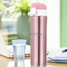Stainless Steel Insulated Thermos Cup Flask Travel  Mug Water Drink Bottle 500ml