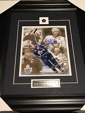 Signed Wendel Clark 8x10 Framed W/coa