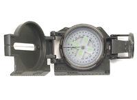 US Army Kompass Ranger Metallgehäuse Armeekompass Marschkompass Oliv