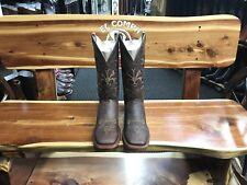 All Leather Top Quality Square Toe Boots Rodeo Punta Cuadrada Botas De Piel