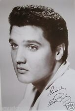 """ELVIS PRESLEY """"PUPPY DOG EYES"""" POSTER FROM ASIA -50's PUBLICITY SHOT OF THE KING"""