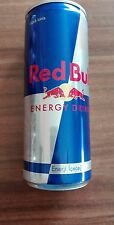 1 Energy Drink Boîte Red Bull Turquie plein full 250 ml Can énergie collection