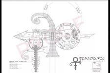 PRINCE - Love Symbol Residence- House Floor-Plan - Black/White - Very Rare! O(+>