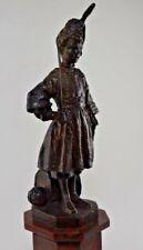 Bronze RENE FACHE (militaire empire napoléon no barbedienne )