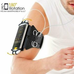 VUP® Running Gym Bike Armband Case Holder for Samsung Galaxy S20 S10 Plus S9 S8
