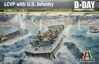 Italeri Historical Model LCVP w/U.S. Infantry VG