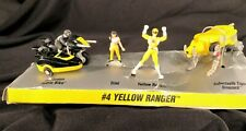 1994 Micro Machines Mighty Morphin Power Rangers #4 Yellow Ranger